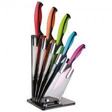 jamie oliver knife block set 5 knives black