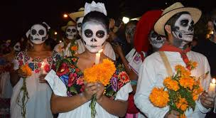 day of the dead fancy dress sugar skull makeup