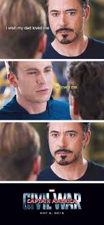 Tony Stark Meme - captain america civil war memes howard stark likes steve rogers more