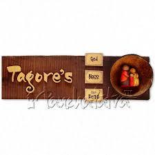 home decor design names buy handmade name plate design for family of 3 members online in