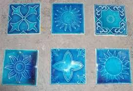 Bathroom Tiles Blue Colour Designer Wall Tiles U0026 Bathroom Marble Manufacturer From Jalandhar