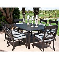 Aluminum Patio Dining Set Cape Coral Dining Patio Set By Leisure Select Patio Dining