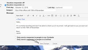 Sending Resume Email Message 4 Out Of Office Message Examples That Work When You Rest