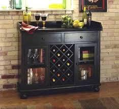 wine rack buffet table with wine rack bar sideboard storage