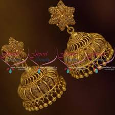 gold jhumka earrings design gold jhumka earrings designs images best earring 2017