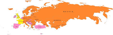 map of europe russia middle east partial europe middle east asia russia africa map and