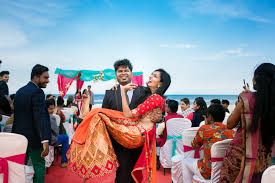 destination wedding nithin and anusha s destination wedding in pondicherry