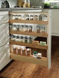 Kitchen Cabinet Spice Organizers Pull Out Spice Rack From Saucy Girls Kitchen Dream Kitchens