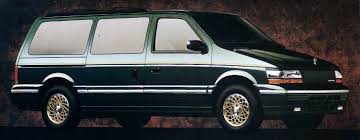 curbside classic 1990 chrysler town u0026 country u2013 what happened to