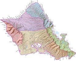 Hawaii Zip Code Map by Islandbreath Hawaiian Ahupuaa