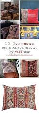 Faux Persian Rugs by Oriental Rug Pillows Finding Silver Pennies