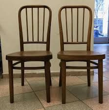 Thonet Vintage Chairs Vintage Model A 63 Chairs By Josef Frank For Thonet Set Of 2 For