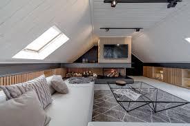 Comfortable And Cozy  Attic Apartment Inspirations Attic - Apartment ceiling design
