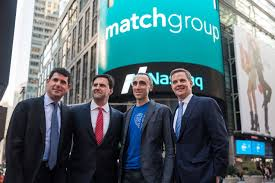 who is the owner of company tinder owner match reports earnings since separating