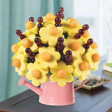 simply edible edible arrangements fruit baskets simply daisies in watering can
