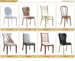 Second Hand Banquet Chairs For Sale Wholesale Hotel Furniture Banquet Hall Chair Aluminum Frame Used