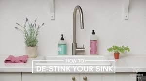 how to clean your kitchen sink u0026 disposal apartment therapy