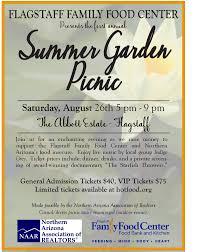 Family Garden Center Summer Garden Picnic Presented By Flagstaff Family Food Center
