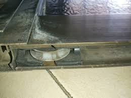 How To Repair A Patio by How To Repair A Stuck Sliding Glass Door By Changing The Wheel Parts