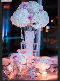 Beach Centerpieces For Wedding Reception by Beach Glam Wedding Pink Blush Silver White Bling Centerpieces