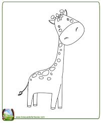 imagenes de jirafas bebes animadas para colorear 99 dibujos de jirafas tiernas y lindas jirafas para colorear