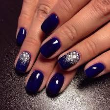 blue glitter nails the best images bestartnails com
