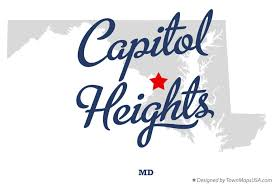 maryland map capital map of capitol heights md maryland
