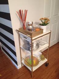 ikea hack gold utility cart glamorous project