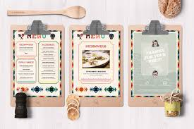29 delicious menu templates for restaurants u0026 cafes