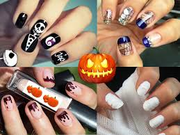 25 suitable halloween nail art designs for halloween piggieluv