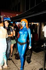 Mystique Halloween Costume Halloween 2009 Costume Attention Flickyer