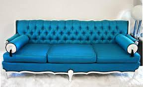 Tufted Sofa Sale by Blue Velvet Tufted Sofa For Sale Best Home Furniture Decoration