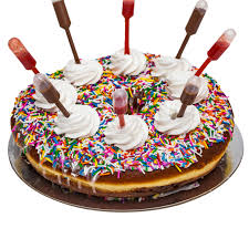 donut cake jacked up birthday cake the rolling pin