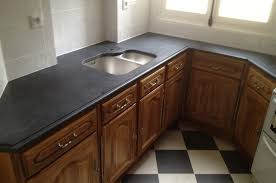 cuisine et plan de travail granit cuisine plan de travail en granit noir evier en granit