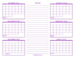 printable 2017 calendar two months per page calendar 6 month daway dabrowa co