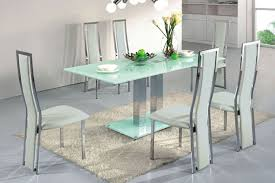 Ultra Modern Dining Room Furniture Dining Room Excellent Design Glass Top Sets For Picturesque