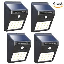 super solar powered motion sensor lights mulcolor wide angle solar powered motion sensor led light recharged