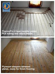 floor heated wooden floors on floor best 25 hydronic radiant floor