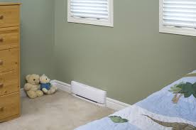linear convector heater in bedroom home heating