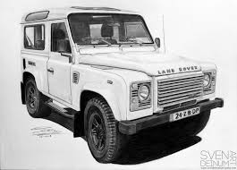 white land rover defender land rover defender piet boon edition 15 by sd1 art on deviantart