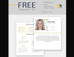 free resume templates for word 50 eye catching cv templates for ms word free to
