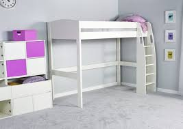 Stompa UNOS High Sleeper Frame ONLY Girls Beds Childrens Beds - High bunk beds