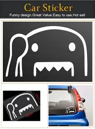 jdm sticker on car amazon com domo kun car van bumper window vinyl decal sticker