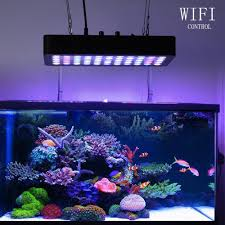 best lighting for corals 165w aquarium coral reef wifi led grow light for fish tank dimmable
