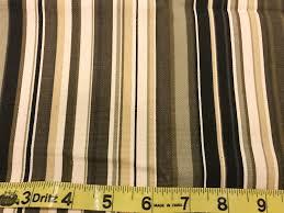 striped home decor fabric home decor fabric black tan cream stripe cotton twill fabric