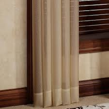 sheer window treatments reverie snow voile semi sheer window treatment