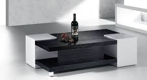 modern black end table best white and black coffee table on ottoman lovely unique with