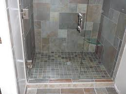 Slate Tiled Bathrooms Tiles Interesting Slate Tile Shower Floor Slate Tile For Gray