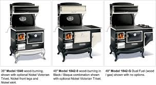 Dual Gas And Wood Burning Fireplace by Elmira Fireview Wood Cookstove By Obadiah U0027s Woodstoves