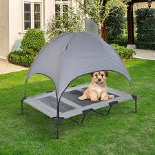 outdoor dog bed with canopy nana u0027s workshop
